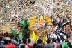Sejumlah anak berbusana dewa dan dewi beraksi dalam Karnaval Anak Kreatif Jakarta bertajuk Inspirasi Legenda Yunani di Taman Ismail Marzuki, Jakarta, Sabtu (22/11). Acara tersebut sebagai bagian dari rangkaian acara seni kreatif bernama Akarnaval 2014 untuk menyambut 20 tahun Sanggar Anak. ANTARA FOTO/Rosa Panggabean/ed/mes/14.