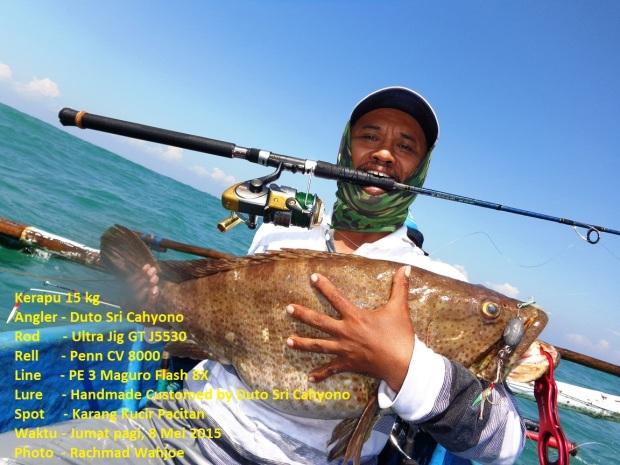 Ikan Kerapu spot seputaran Pacitan