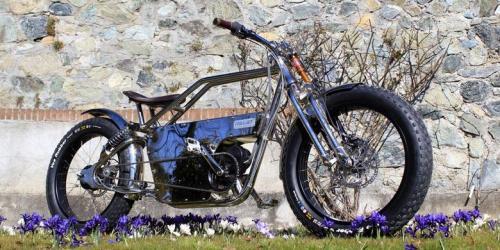 Sepeda listrik Mantra buatan Italjet