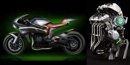 sketsa Kawasaki konsep SC 01