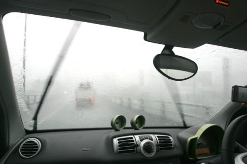 Kondisi hujan