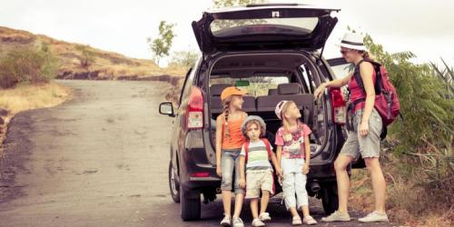 Traveling keluarga