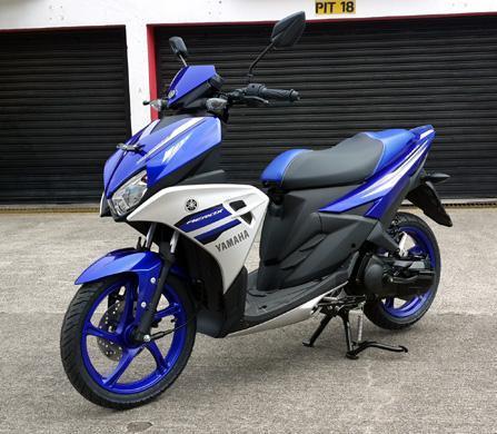 Skutik Yamaha Aerox