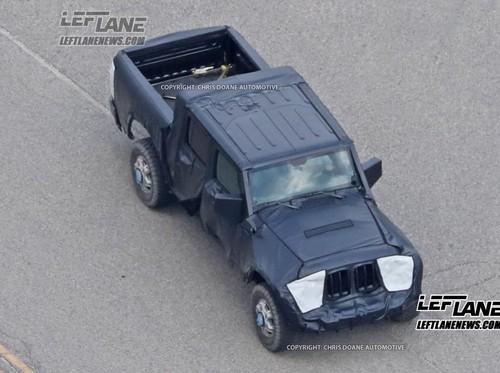 Jeep Wrangler Pikap