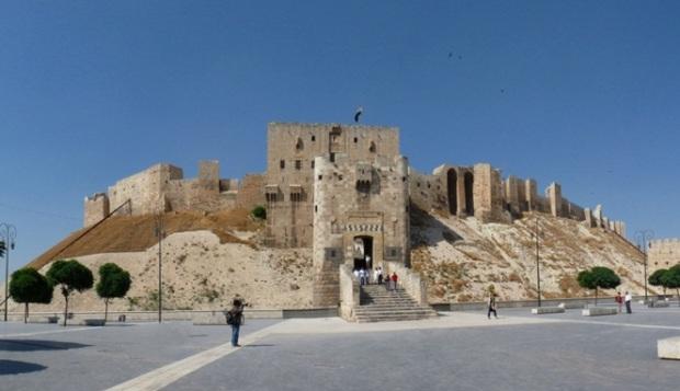 Kastil Citadel of Aleppo