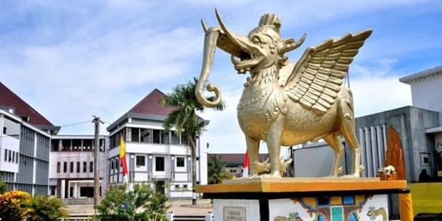 ARRY KUSUMA/Museum Mulawarman di Kabupaten Kutai Kartanegara, Kalimantan Timur.