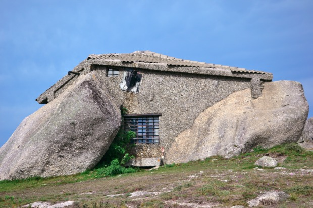 The house of stone, fafe, portugal