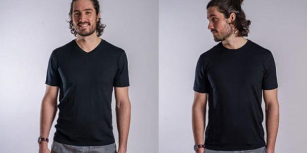UNBOUND APPAREL - Clothing line asal Toronto, Canada membuat kaus khusus traveling yang tahan dua minggu tanpa dicuci.